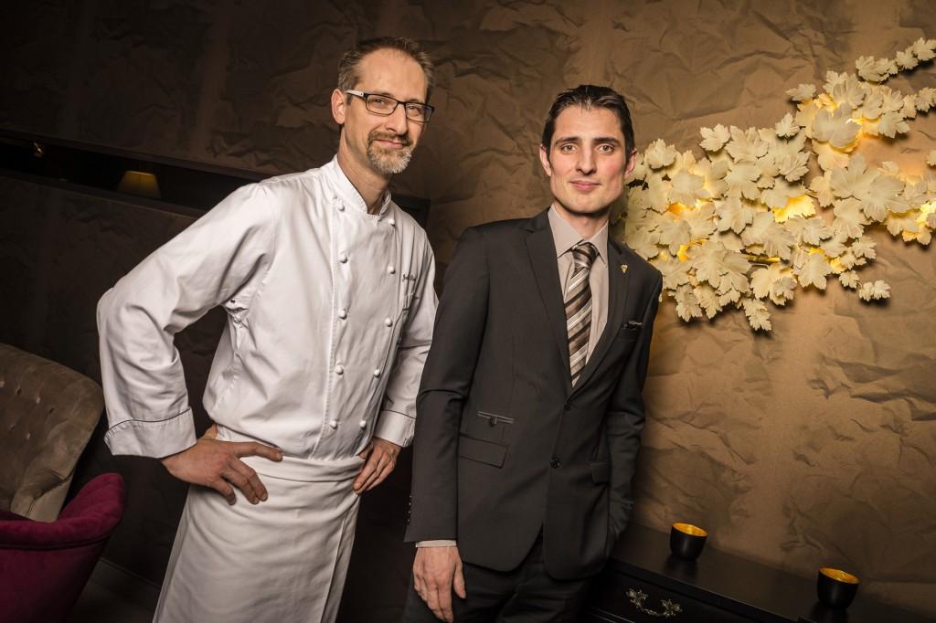 Julien Binz et François Lhermitte Restaurant Julien Binz