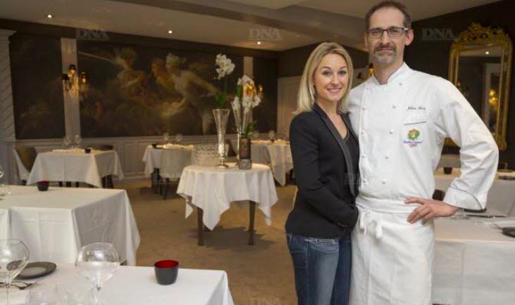 Sandrine Kauffer et Julien Binz ont ouvert le restaurant JULIEN BINZ à Ammerschwihr -DNA
