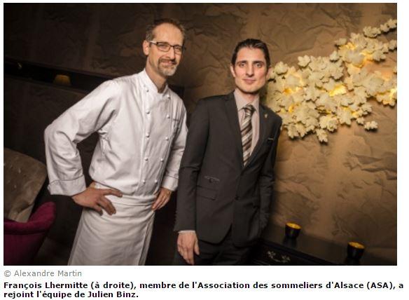 Julien Binz ouvre son propre restaurant