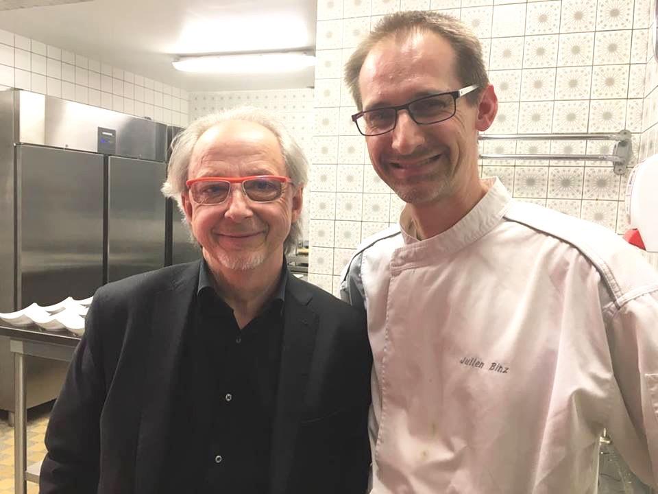 Visite en cuisine de Jean-Luc Brendel, Gault Millau d'or du Gault Millau Tour Est 2016