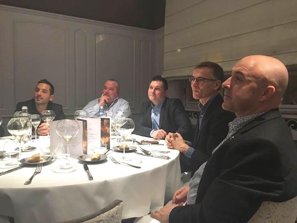 diner des équipes Gault Millau, des chefs et des partenaires du Gault Millau Tour Est 2016
