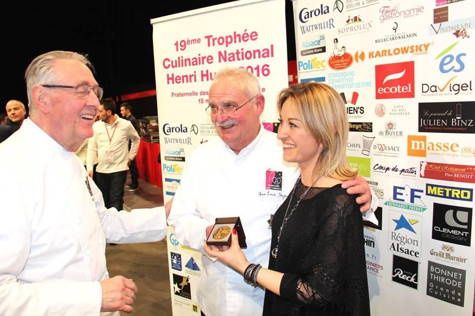 Emile Jung, jean-Louis Steffen et Sandrine Kauffer