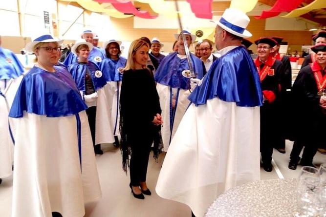 Sandrine Kauffer intronisée Honoris Causa dans la Commanderie Des Cordons Bleus de France section Alsace
