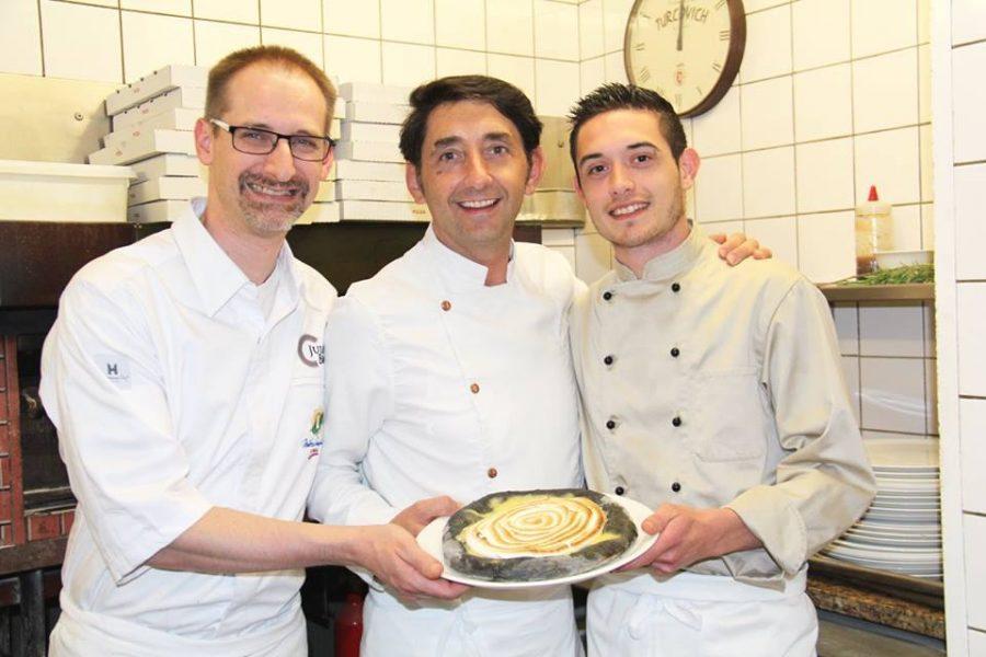 Julien Binz est l'invité de Bruno Cutrupi pour revisiter la pizza gastronomique