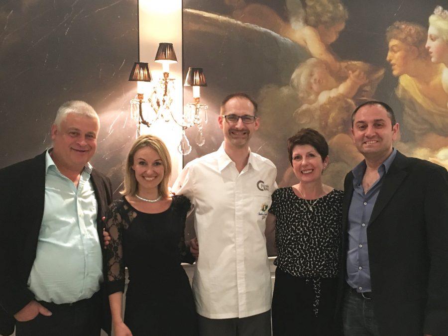 12 mai 2016 menu DINER HARMONIE avec Pascal Leonetti