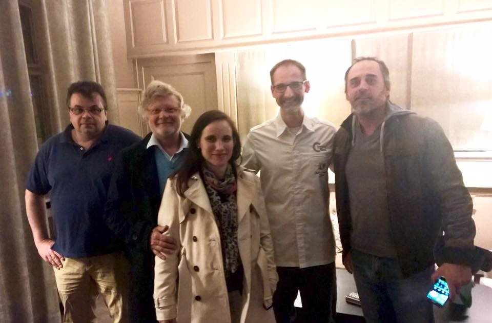 Ludovic le Guyader, Marie-hélène Cristofaro, Jean-Michel Deiss, Julien Binz et Arnaud Septime