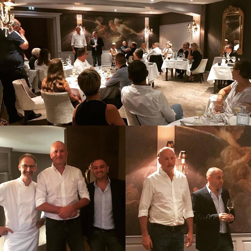 7ème Diner Harmonie au restaurant Julien Binz avec le domaine ALBERT MANN