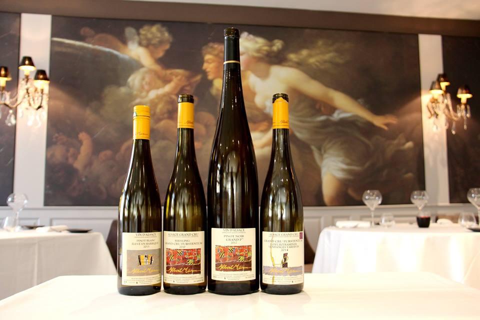 La sélection des vins du domaine ALBERT MANN