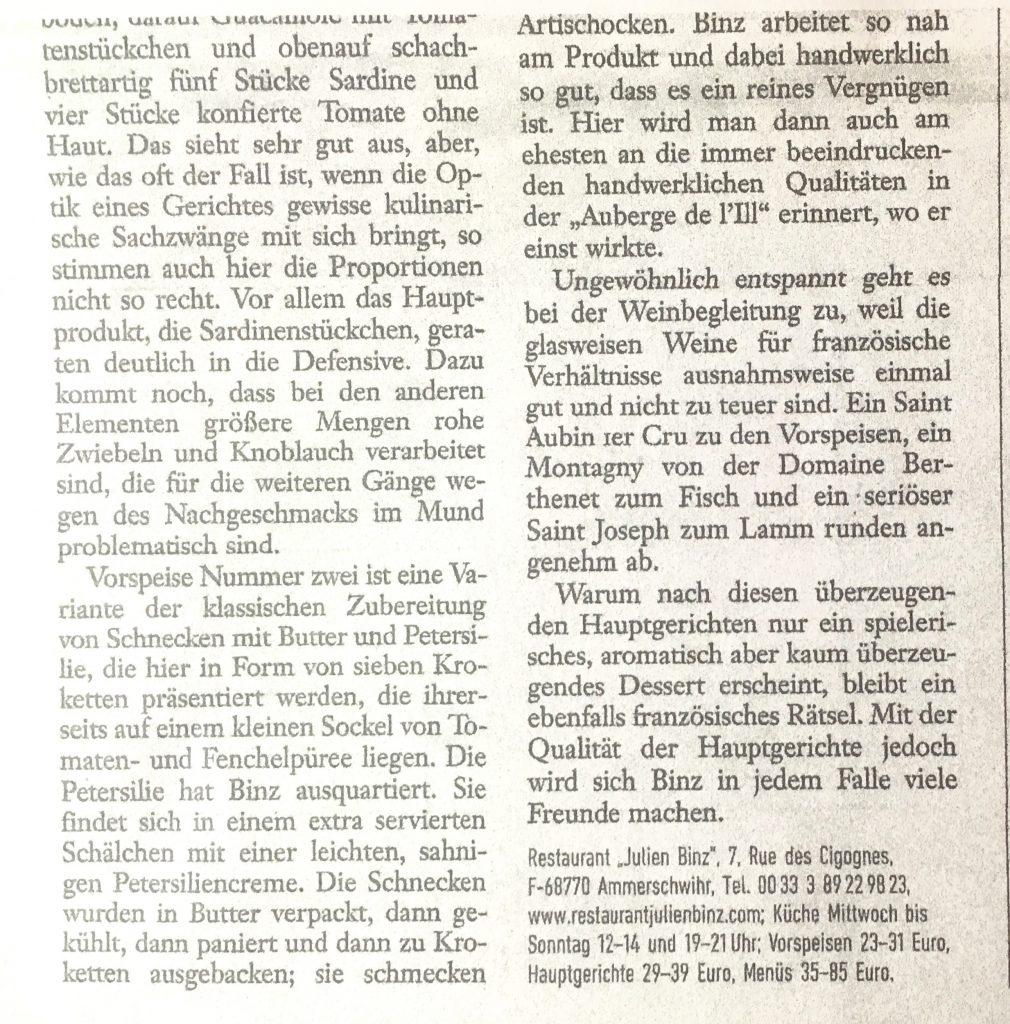 Revue de presse un article de Jürgen Dollasse dans Der Spiegel 2/2