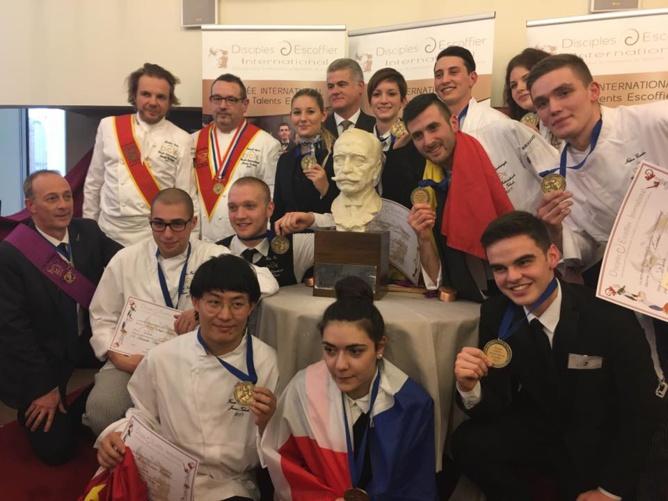 Sandrine Kauffer dans le juryde la Finale Internationale du Trophée Jeunes Talents Escoffier
