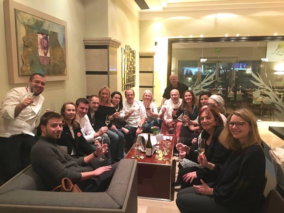 Mardi soir à l'hôtel Sheraton à Tel Aviv, on fêtait l'étoile Michelin qui venait d'être annoncée