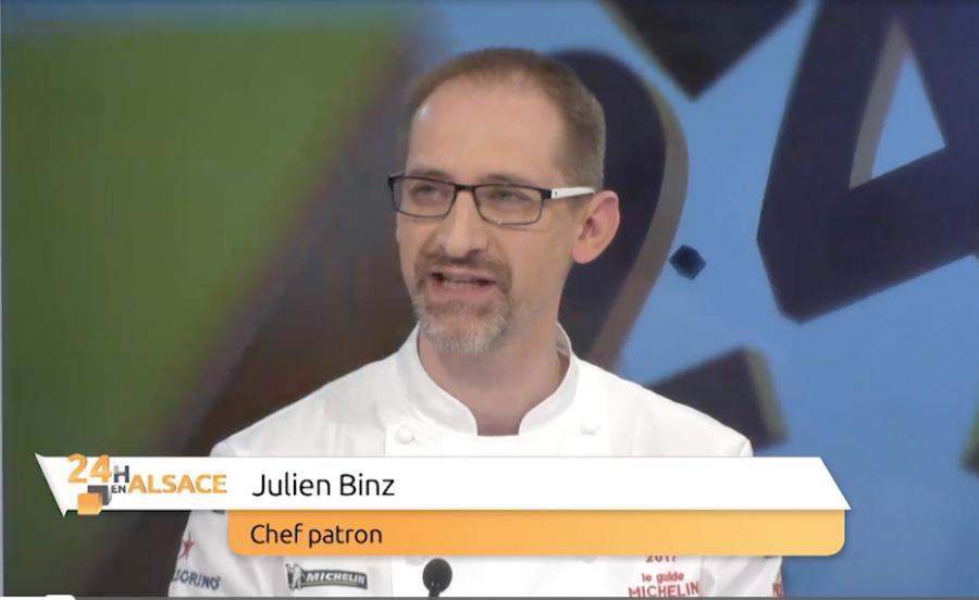 Julien Binz, un chef heureux sur Alsace 20