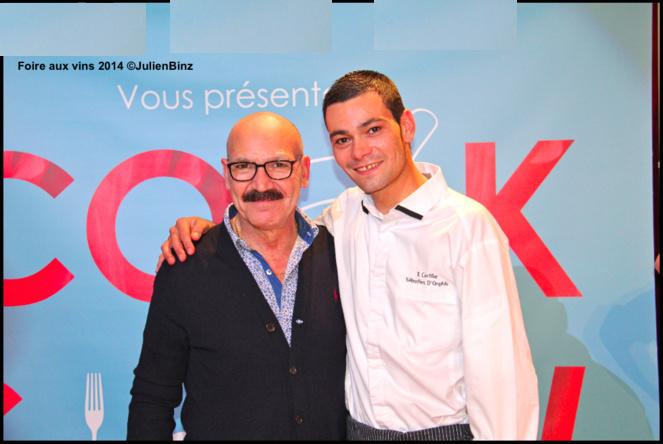 Stefano et Sébastien d'Onghia restaurant Il Cortile à Mulhouse