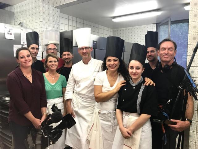 En immersion en cuisine chez Julien Binz pour la fête de la gastronomie 2018