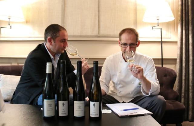 Les Vins du Rheingau à l'honneur du prochain diner harmonie