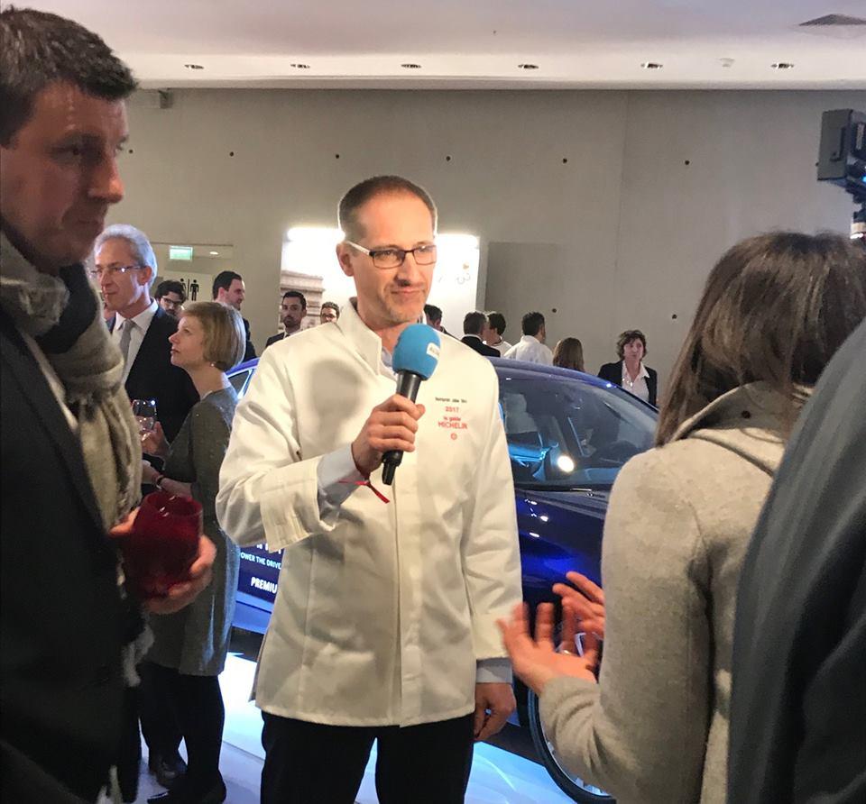 Paris-Michelin 2018 Julien Binz interviewé par Alsace 20