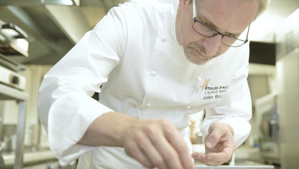 Julien Binz lance le menu Binz'tronome ©etoilesd'alsace