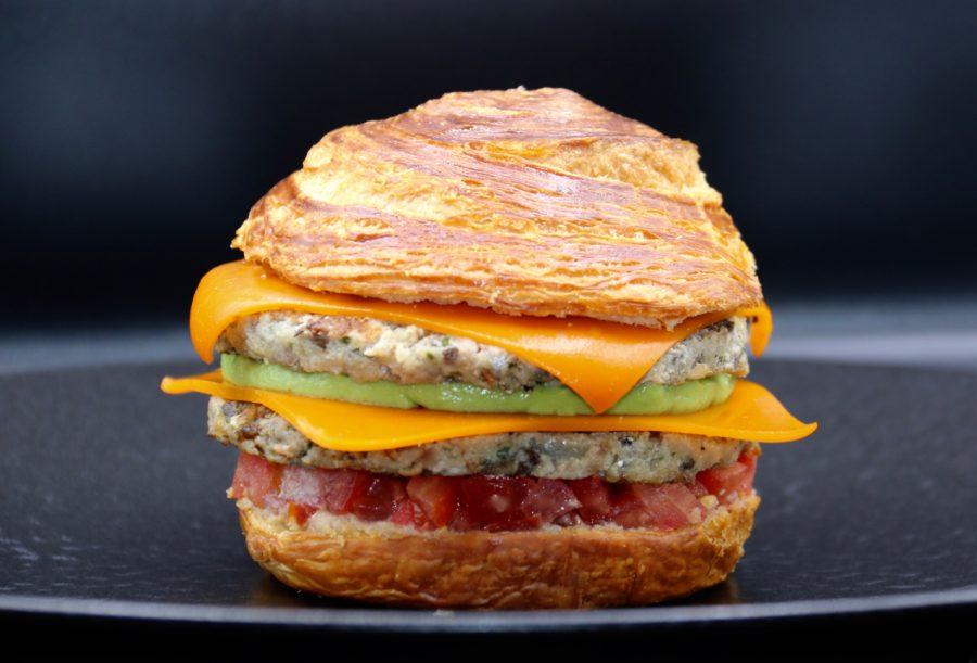 Une recette de Julien Binz dans un Burger