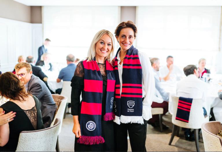 Sandrine Kauffer-Binz et Sabryna Keller