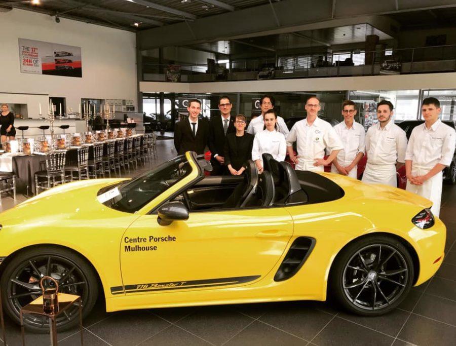 Diner Prestige au centre Porsche Mulhouse