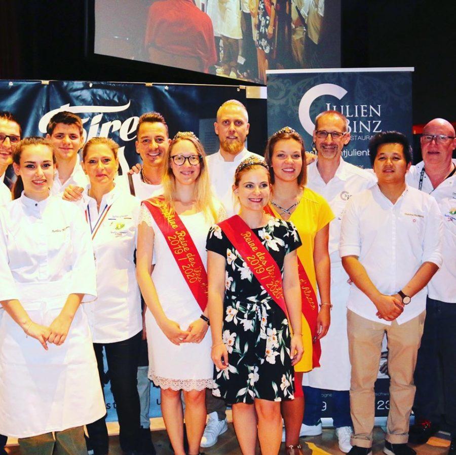 Cook-show à la Foire aux vins de Colmar