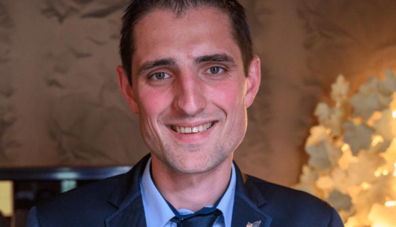 Portait François Lhermitte, Maitre d'Hotel   ET  Sommelier