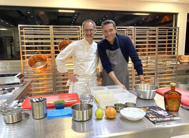 Cours de cuisine en live et remporter un menu anniversaire JULIEN BINZ