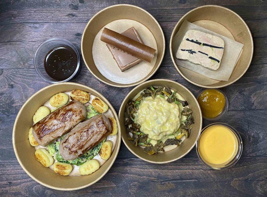 La carte de Julien Binz: un menu sur-mesure comme au restaurant
