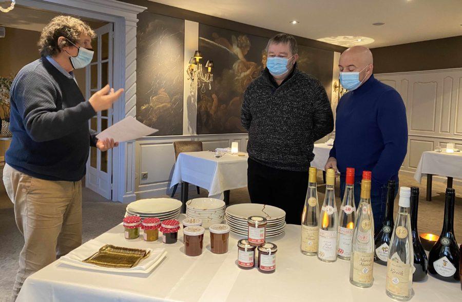 Une dégustation Gault et Millau chez Julien Binz